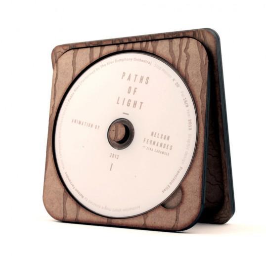 复古的cd包装设计制作