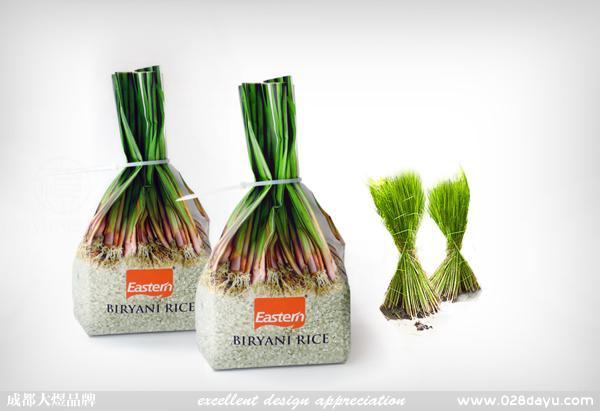 颇有创意的大米包装设计制作欣赏_食品包装_礼品盒