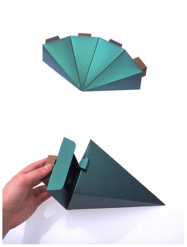 圣诞树盒子新颖创意设计制作