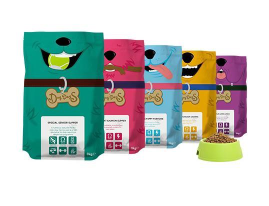 英国宠物狗食品包装设计制作_食品包装_礼品盒包装