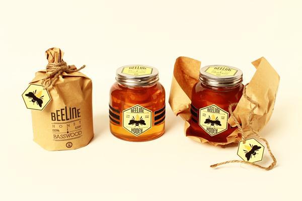 蜂蜜品牌特色包装设计制作