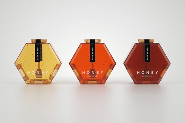 蜂蜜概念包装设计制作