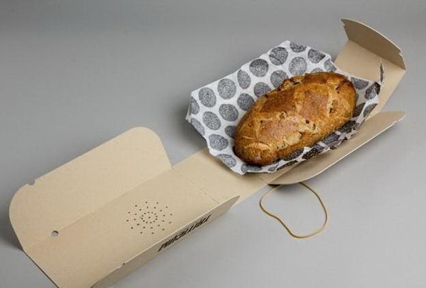 牛皮纸面包包装设计制作