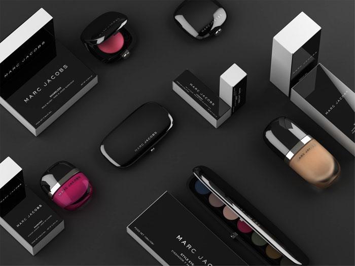 黑色化妆品包装设计制作
