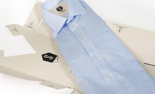 标准衬衫新颖包装设计制作