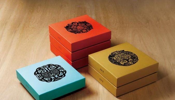 茶籽堂 礼盒系列包装设计制作