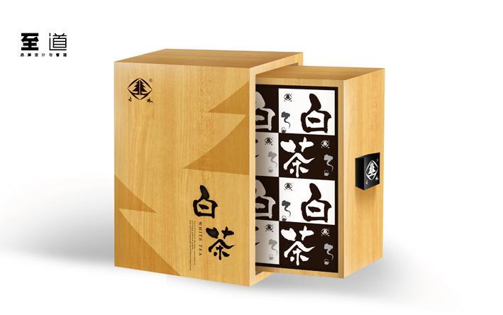 铁观音和白茶包装设计制作_礼盒包装_礼品盒包装_标签