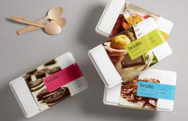国外创意冰淇淋包装设计制作