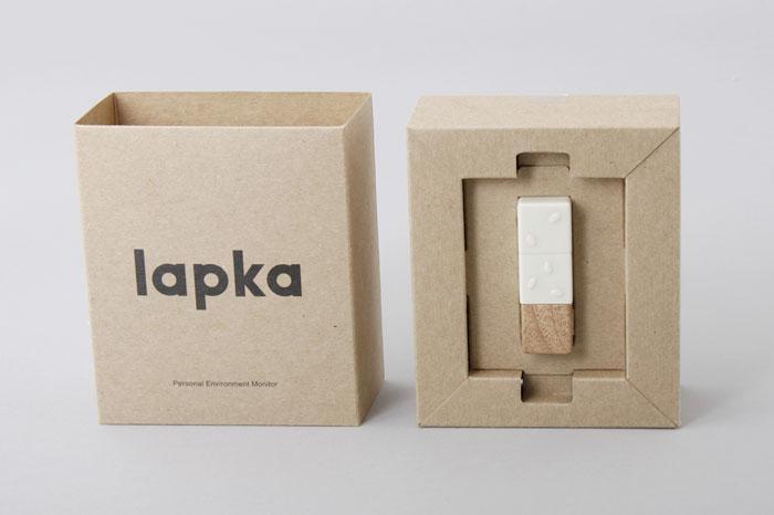 巧妙的lapka电子产品包装设计制作方案