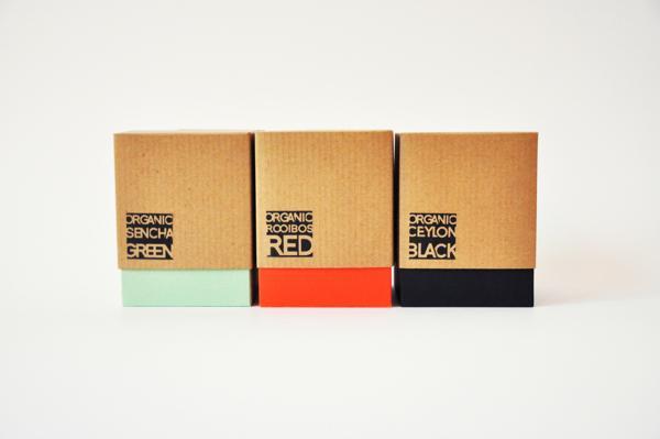 kjub品牌茶叶茶包新颖包装设计制作