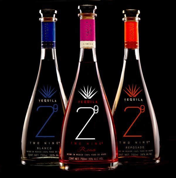 two nine品牌龙舌兰酒特色新颖包装设计制作